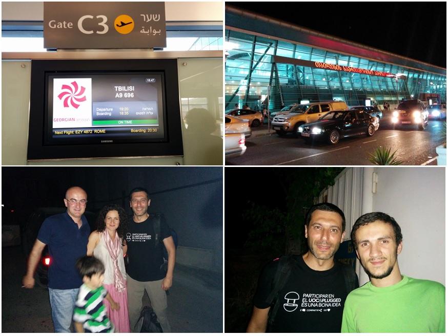 Viatge i arribada a Tbilisi