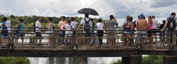 Etapa final d'Argentina: Cascades de l'Iguaçú (o Iguazú)