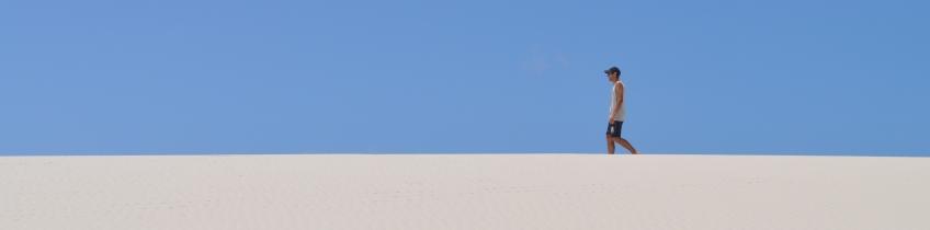Entre ones i dunes al nordest de Brazil